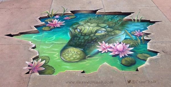 Beautiful 3D Street Art