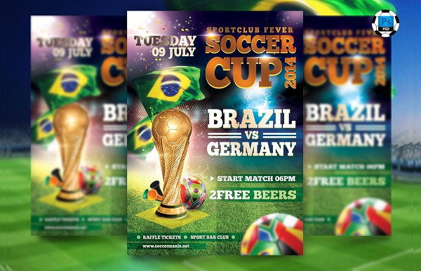 Bigmatch Soccer World Cup Flyer