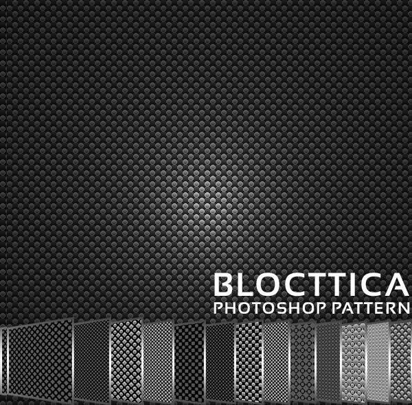 Blocttica Photoshop Pattern