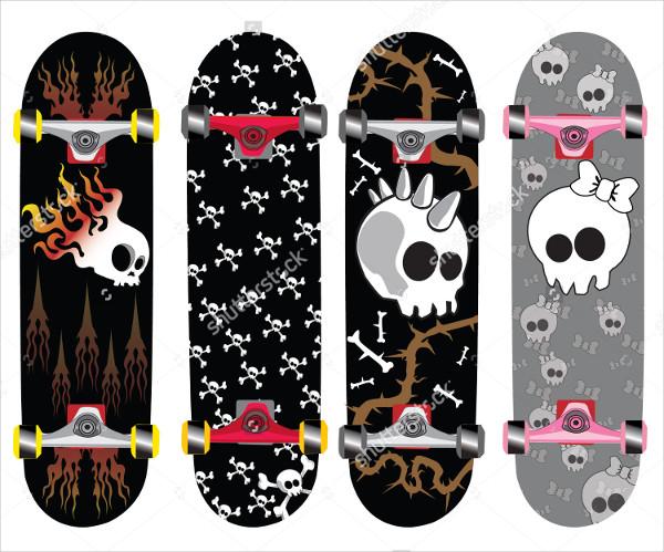 Bones Skateboard Design