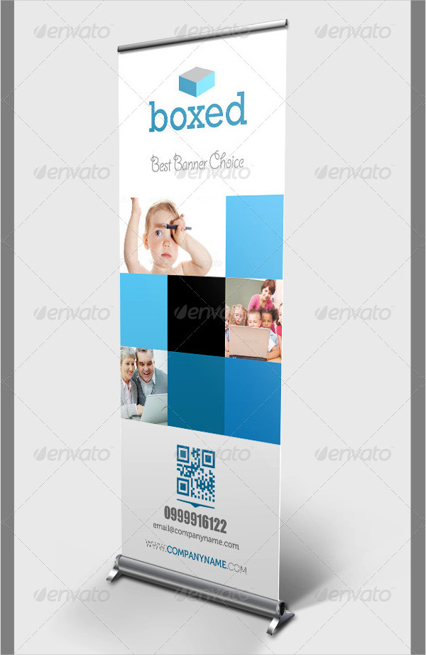 Boxed Banner Template