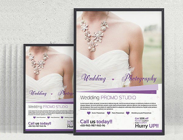 Business Wedding Photography Flyer