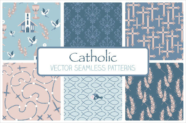 Catholic Seamless Patterns