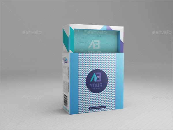 Cd Cover Package Box Mockup