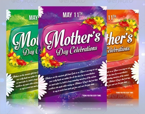 Colorful Mother's Day Greeting Cards