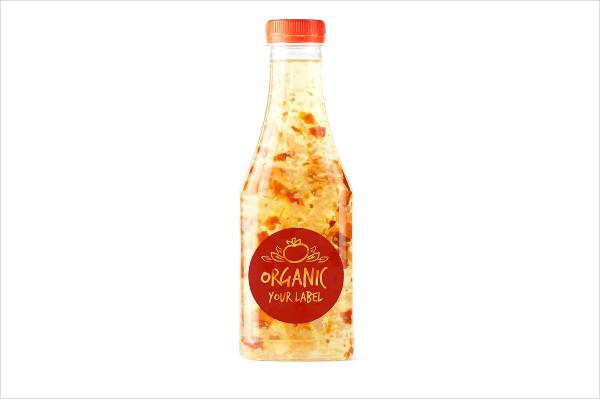 Conserve Sauce Bottle Mockup