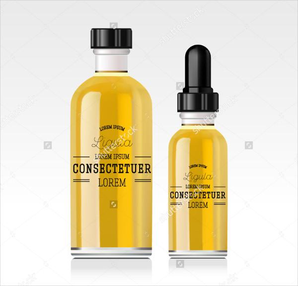 Cosmetic Dropper Bottle Mockups