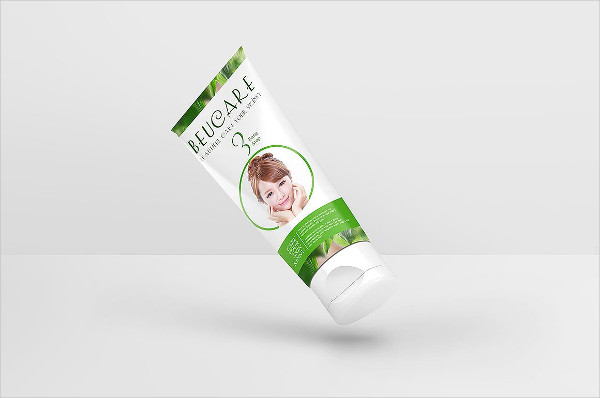 Cosmetic Product Package Mockup