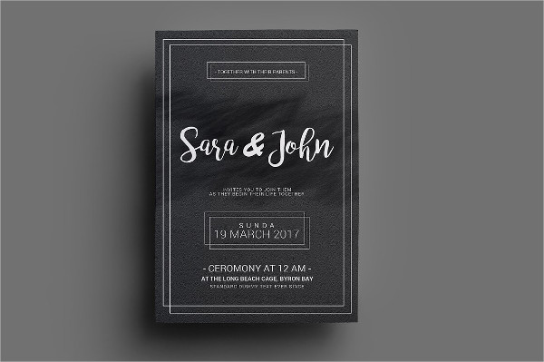 Couple Wedding Invitations
