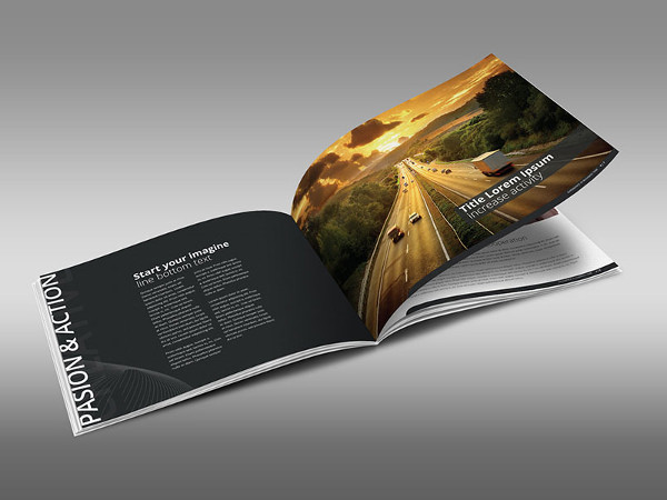 Creative Horizontal Brochure