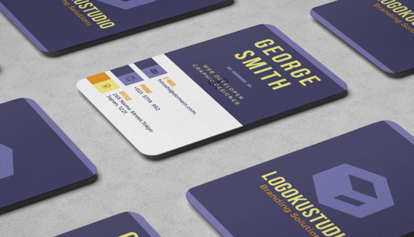 Cube Business Card Free