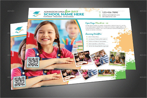 Fully Editable School Flyers
