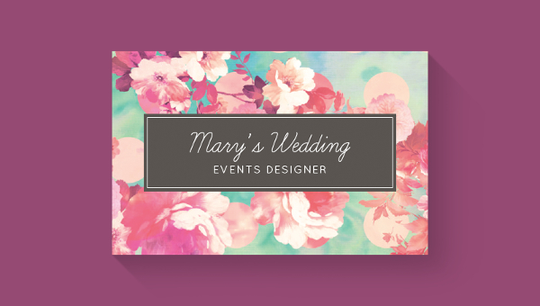 25 wedding planner business card templates download - Wedding Planner Business Cards