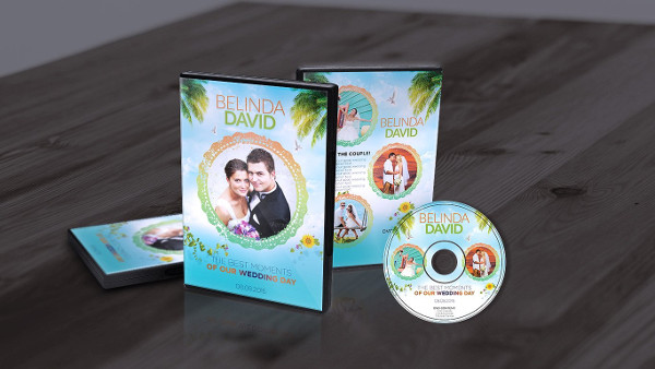 wedding dvd cover template 28 free premium download