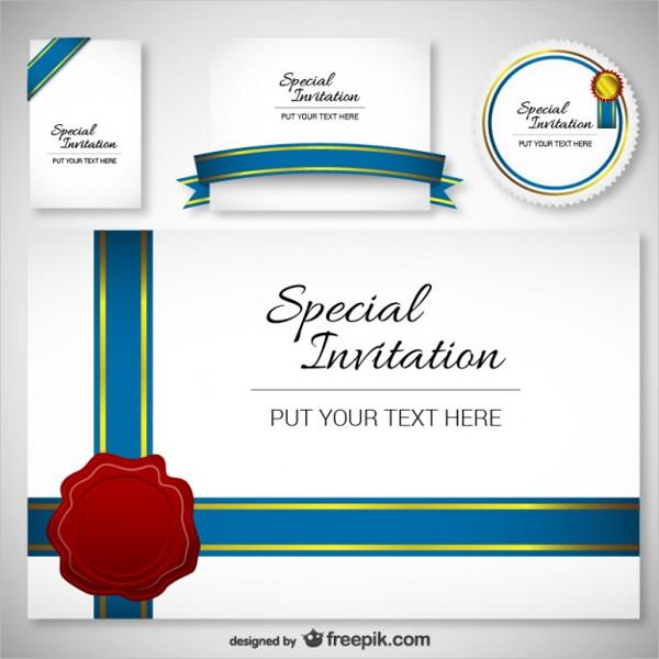 Free Design Invitation Template