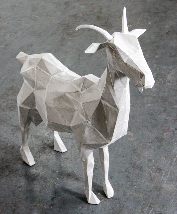 Goat Art Paper Animal