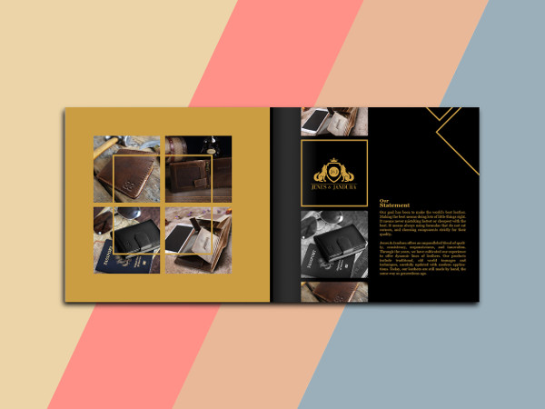 Graphic Design Product Catalog Template