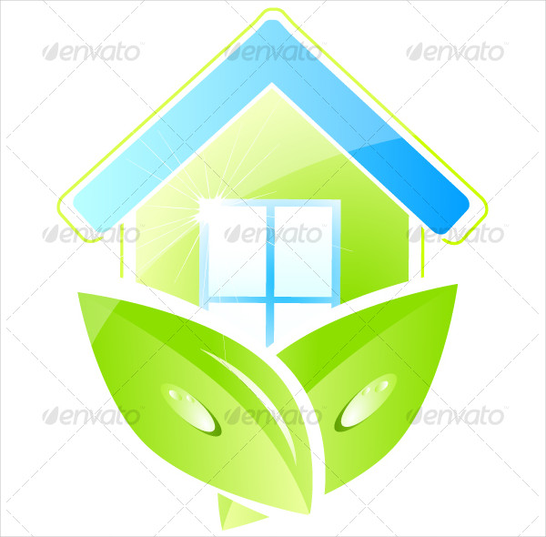 Green Home Icons