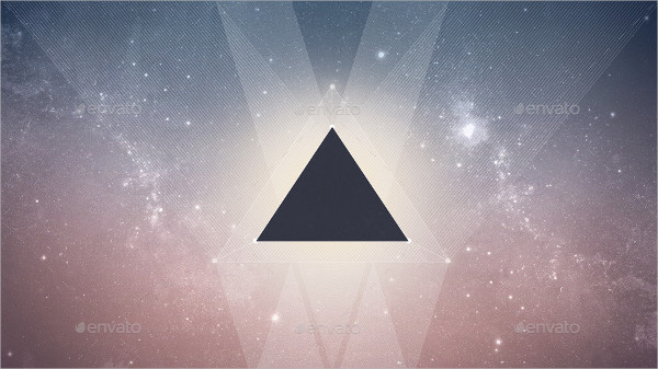Hipster Galaxy Triangle Backgrounds