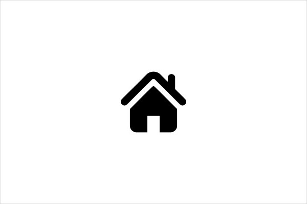 Home Icon Silhouette Free