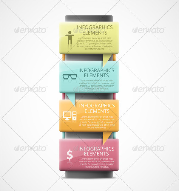 Infographic Elements Banner Template