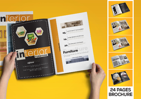 Interior Product Catalog Template