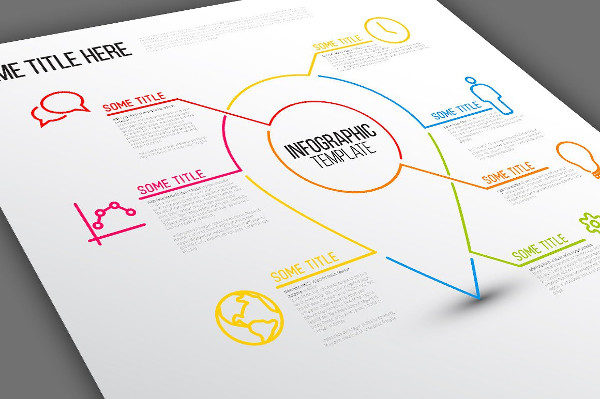 Location Point Infrographic Template