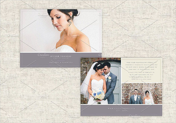 Marketing Wedding Photography Flyer