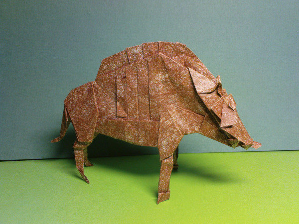 Model Art Animal Paper