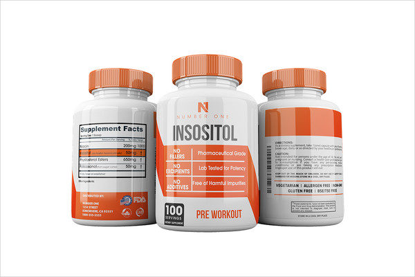 Pre Workout Supplement Label Template