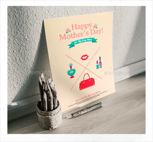 Print Ready Mother's Day Greeting Card