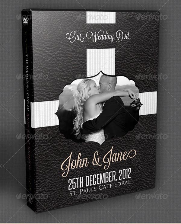 Psd Wedding DVD Cover Template