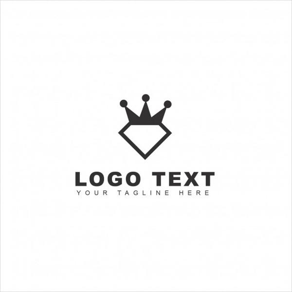 Royal Diamond Logo Free Vector
