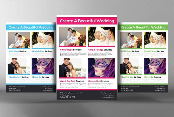 Simple Wedding Planner Flyer