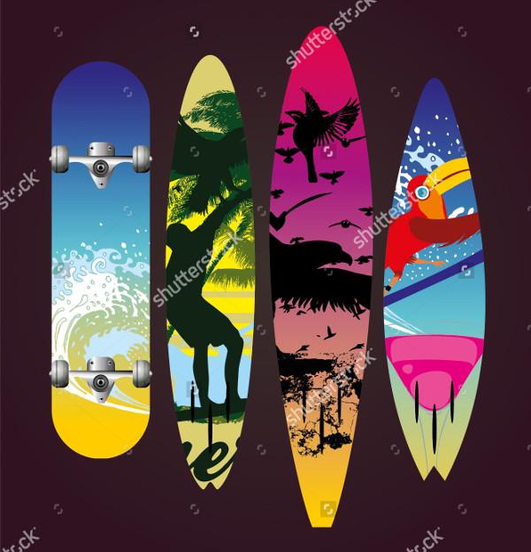 Skate & Surf Boarding