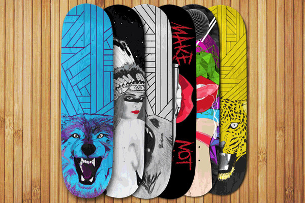 Skateboard Design Illustrator