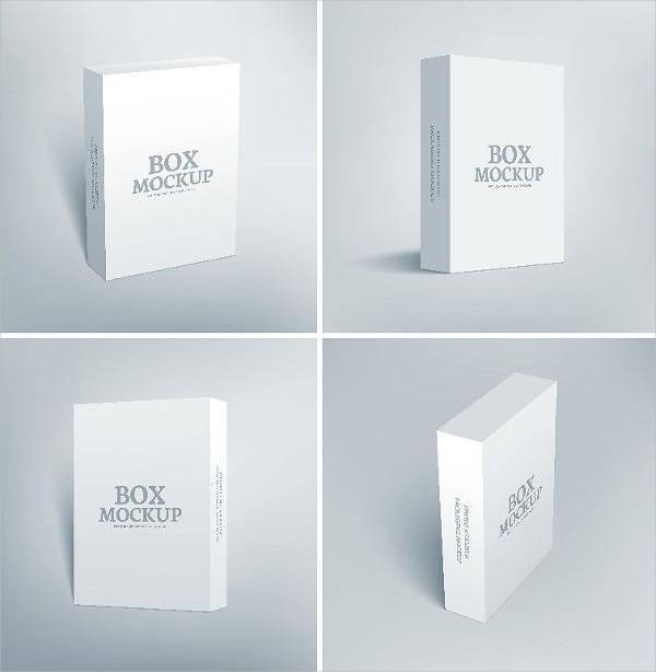 Software Packaging Box Mockups