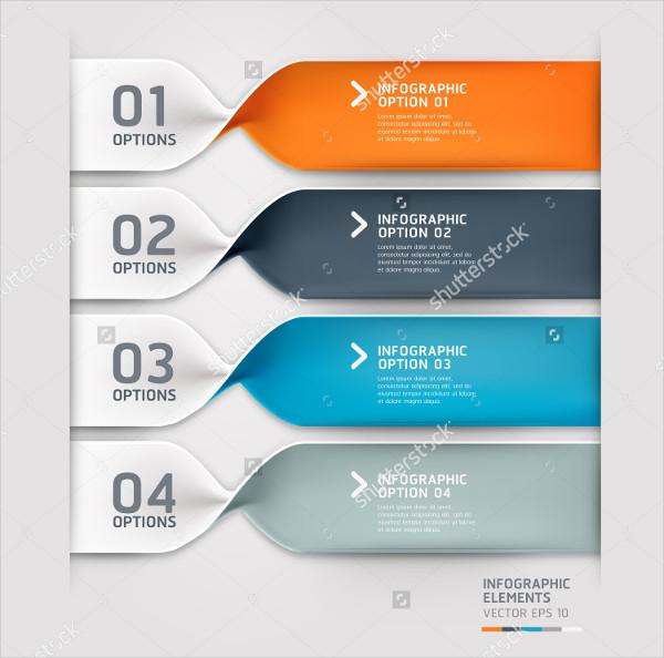 Spiral Infographics Options Banner