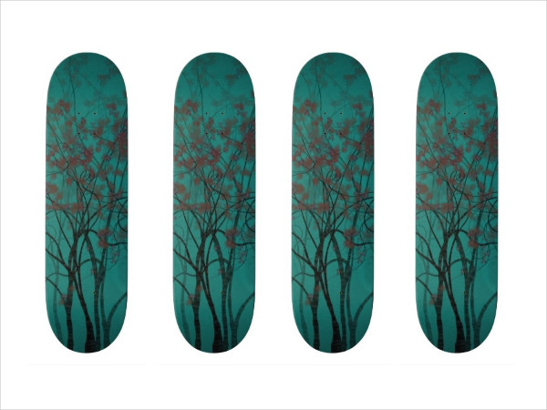 Twisted Tree Forest Skateboard
