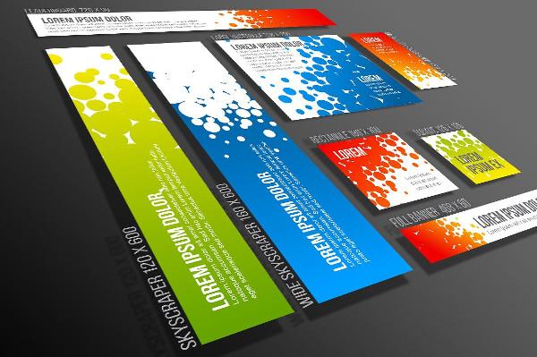 Vector Web Banner Templates Set