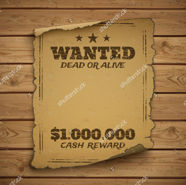 Wanted Dead Alive Posters