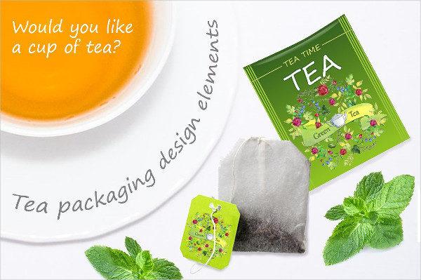 Water Packaging Tea Design
