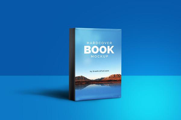 Wonderful Hardcover Book Mockup
