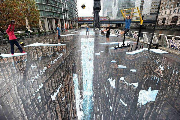 World's Largest 3D Street Painting