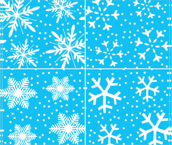 Xmas Snowflakes Pattern