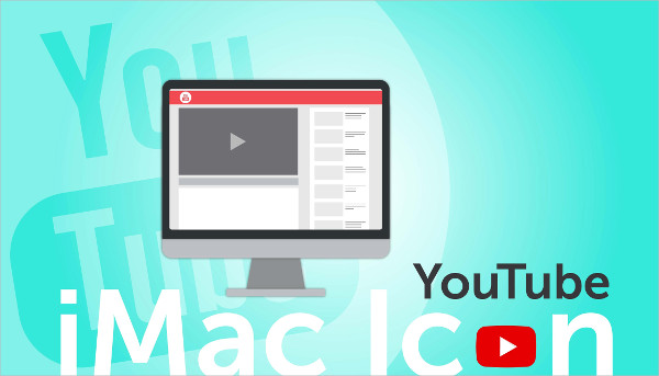 Youtube iMac Icon