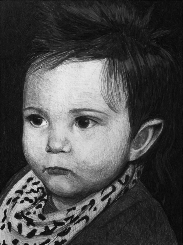 30 Charcoal Drawings