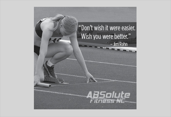 4 Fitness Quotes