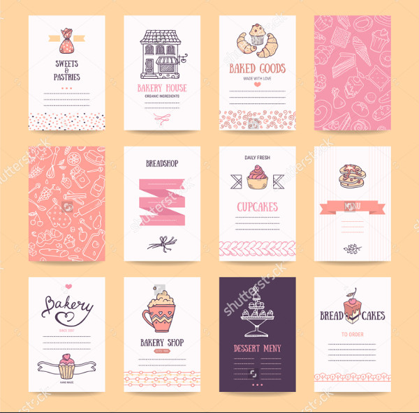 Bakery & Pastry Shop Business Cards