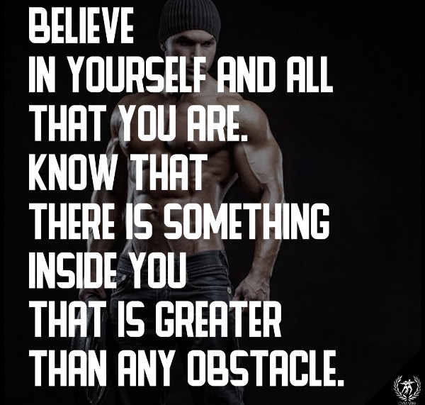 Believe In Yourself Fitness Quotes